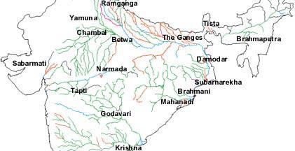 of the Water quality in major river systems of India